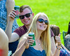New Cortland Crush fans from Austria enjoying the game against the Rome Generals on Greg's Field at Beaudry Park in Cortland, New York on Saturday June 4, 2016.