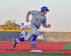 Cortland Crush  Paul Ludden (10) running the bases against the Syracuse Salt Cats at OCC Turf Field in Syracuse, New York on Monday, June 6, 2016. Cortland won 4-2.