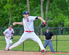 Syracuse Salt Cats Sam Walsh (31) pitching against the  Cortland Crush at OCC Turf Field in Syracuse, New York on Wednesday, June 15, 2016. Cortland won 5-2.