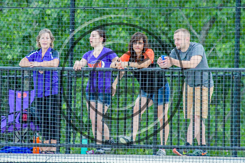 Cortland Crush fans watching the Syracuse Salt Cats at OCC Turf Field in Syracuse, New York on Wednesday, June 15, 2016. Cortland won 5-2.
