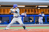 Cortland Crush David Murphy (8) at bat against the Syracuse Salt Cats at OCC Turf Field in Syracuse, New York on Wednesday, June 15, 2016. Cortland won 5-2.