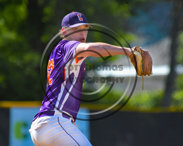 Cortland Crush Aaron Edelmon (62) on the mound against the Hornell Dodgers on Greg's Field at Beaudry Park in Cortland, New York on Saturday, June 18, 2016. Hornell won 11-3.