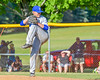Hornell Dodgers Victor Paiva (20) on the mound against the  Cortland Crush on Greg's Field at Beaudry Park in Cortland, New York on Saturday, June 18, 2016. Hornell won 11-3.