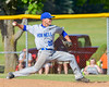 Hornell Dodgers Victor Paiva (20) pitching against the   Cortland Crush on Greg's Field at Beaudry Park in Cortland, New York on Saturday, June 18, 2016. Hornell won 11-3.