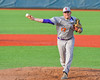 Cortland Crush Stephan Witkowski (17) pitching against the Syracuse Junior Chiefs at OCC Turf Field in Syracuse, New York on Wednesday, June 22, 2016. Cortland won 6-2.
