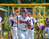 Cortland Crush Derek Martin (29) being introduced before playing the Sherrill Silversmiths on Greg's Field at Beaudry Park in Cortland, New York on Sunday, June 26, 2016.