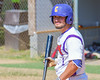 Cortland Crush Greg Mula (1) before an at bat against the Sherrill Silversmiths on Greg's Field at Beaudry Park in Cortland, New York on Sunday, June 26, 2016. Cortland won 6-4.