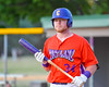 Cortland Crush George Haaland (34) before an at bat against the Syracuse Salt Cats on Greg's Field at Beaudry Park in Cortland, New York on Wednesday, June 29, 2016. Cortland won 5-4 in 13 innings.