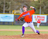 Cortland Crush William Ginsberg (30) pitching against the Syracuse Salt Cats on Greg's Field at Beaudry Park in Cortland, New York on Wednesday, June 29, 2016. Cortland won 5-4 in 13 innings.