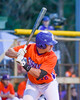 Cortland Crush Ethan Moore (16) at bat against the Syracuse Salt Cats on Greg's Field at Beaudry Park in Cortland, New York on Wednesday, June 29, 2016. Cortland won 5-4 in 13 innings.