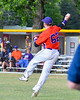 Cortland Crush Aaron Edelmon (62) thrwoing the ball against the Syracuse Salt Cats on Greg's Field at Beaudry Park in Cortland, New York on Wednesday, June 29, 2016. Cortland won 5-4 in 13 innings.