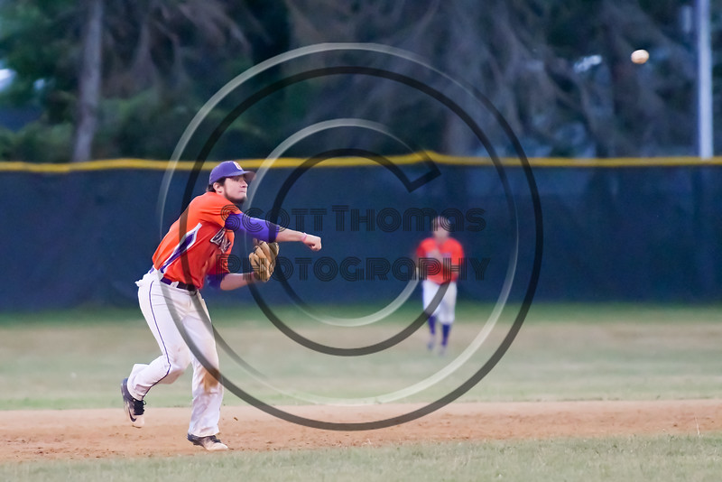 Cortland Crush hosted the Syracuse Salt Cats on Greg's Field at Beaudry Park in Cortland, New York on Wednesday, June 29, 2016. Cortland won 5-4 in 13 innings.