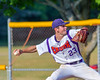 Cortland Crush Andrew Cartier (23) pitching against the Rome Generals on Greg's Field at Beaudry Park in Cortland, New York on Wednesday, July 6, 2016. Cortland won 7-2.