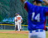 Cortland Crush Tommy Seaver (20) talks with Anthony Searles (2) during a time out agianst the Rome Generals on Greg's Field at Beaudry Park in Cortland, New York on Wednesday, July 6, 2016. Cortland won 7-2.