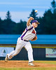Cortland Crush Derek Martin (29) pitching against the Rome Generals on Greg's Field at Beaudry Park in Cortland, New York on Wednesday, July 6, 2016. Cortland won 7-2.