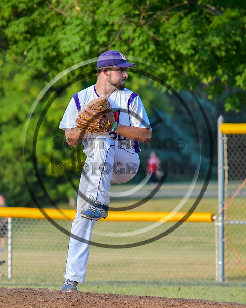 Cortland Crush Tommy Seaver (20) pitching against the Rome Generals on Greg's Field at Beaudry Park in Cortland, New York on Wednesday, July 6, 2016. Cortland won 7-2.