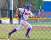 Cortland Crush Paul Ludden (10) runs up the First Base line against the Rome Generals on Greg's Field at Beaudry Park in Cortland, New York on Wednesday, July 6, 2016. Cortland won 7-2.