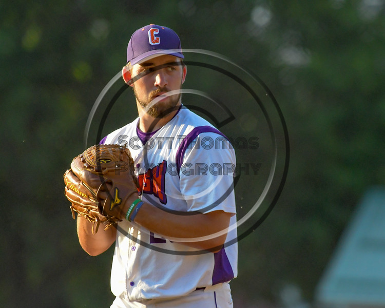 Cortland Crush Tommy Seaver (20) on the mound against the Rome Generals on Greg's Field at Beaudry Park in Cortland, New York on Wednesday, July 6, 2016. Cortland won 7-2.