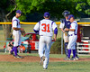 Cortland Crush Relief Pitcher Matthew Dietrich (31) trots in from the Bull Pen against the Rome Generals on Greg's Field at Beaudry Park in Cortland, New York on Wednesday, July 6, 2016. Cortland won 7-2.