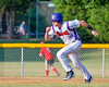 Cortland Crush Ethan Moore (36) running the bases against the Rome Generals on Greg's Field at Beaudry Park in Cortland, New York on Wednesday, July 6, 2016. Cortland won 7-2.