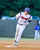 Cortland Crush Derek Martin (29) trots around the bases after hitting a Home Run agaisnt the Rome Generals on Greg's Field at Beaudry Park in Cortland, New York on Wednesday, July 6, 2016. Cortland won 7-2.