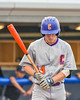 Cortland Crush Patrick Messinger (14) before his at bast against the Syracuse Salt Cats at OCC Turf Field in Syracuse, New York on Friday, July 8, 2016. Cortland won 10-4.