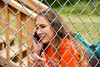 Cortland Crush Multimedia Sports Director Savanna Collins on Greg's Field at Beaudry Park in Cortland, New York on Wednesday, July 16, 2016.