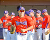 Cortland Crush Broderick Santilli (3) being introduced before playing the Syracuse Junior Chiefs on Greg's Field in the NYCBL Eastern Division playoffs at Beaudry Park in Cortland, New York on Thursday, July 27, 2016.