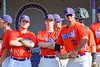Cortland Crush players ready for the Syracuse Junior Chiefs on Greg's Field in the NYCBL Eastern Division playoffs at Beaudry Park in Cortland, New York on Thursday, July 27, 2016.