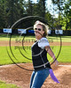 Ms. Brooke Fullmer of College Suites Cortland throws out the first pitch to start the 2017 Cortland Crush season on Greg's Field at Beaudry Park in Cortland, New York on Friday, June 2, 2017.