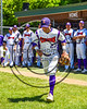 Cortland CrushJosh Reuter (23) being introduced before playing the Syracuse Spartans on Greg's Field at Beaudry Park in Cortland, New York on Saturday, June 3, 2017.