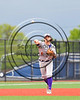Cortland Crush Dylan Ott (4) throwing the ball against the Syracuse Salt Cats at OCC Turf Field in Syracuse, New York on Monday, June 5, 2017.