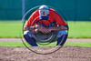 Cortland Crush Daniel Hayden (17) getting ready to pitch against the Syracuse Spartans at Dick Rockwell Field in Syracuse, New York on Sunday, June 11, 2017. Syracuse won 17-9.