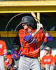 Cortland Crush Alex Flock (11) at bat against the Syracuse Spartans at Dick Rockwell Field in Syracuse, New York on Sunday, June 11, 2017. Syracuse won 17-9.