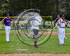 Cortland Crush players preparing the Greg's Field at Beaudry Park before playing the Syracuse Salt Cats in Cortland, New York on Saturday, June 17, 2017.