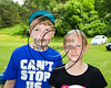 Cortland Crush Family Day featured Face Painting for young fans on Greg's Field at Beaudry Park in Cortland, New York on Saturday, June 17, 2017.