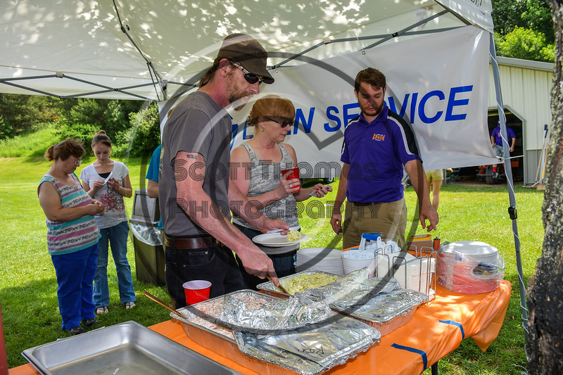 Cortland Crush sponsor Ames Linen Service hosted their employees at Beaudry Park in Cortland, New York on Saturday, June 17, 2017.