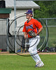 Cortland Crush Steven Boscia (19) being introduced before playing the Sherrill Silversmiths on Greg's Field at Beaudry Park in Cortland, New York on Thursday, June 22, 2017.