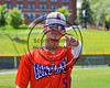 Cortland Crush Jimmy Murray (5) before playing the Syracuse Spartans on Dick Rockwell Field at LeMoyne College in Syracuse, New York on Saturday, June 24, 2017.
