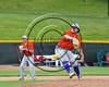 Cortland Crush Clayton Jeffries (8) pitching against the Syracuse Spartans on Dick Rockwell Field at LeMoyne College in Syracuse, New York on Saturday, June 24, 2017. Cortland won 3-1.