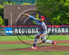 Syracuse Salt Cats Maxwell Bain (32) pitching against the Cortland Crush at Wallace Field on the SUNY Cortland campus in Cortland, New York on Thuesday, June 27, 2017. Syracuse won 4-3.