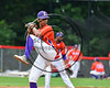 Cortland Crush Ledwin Nunez (36) pitching against the Olean Oilers at Wallace Field on the SUNY Cortland campus in Cortland, New York on Thuesday, July 2, 2017. Cortland won 7-2.