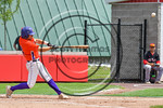 Cortland Crush Dylan Ott (4) gets a hit against the Olean Oilers at Wallace Field on the SUNY Cortland campus in Cortland, New York on Thuesday, July 2, 2017. Cortland won 7-2.