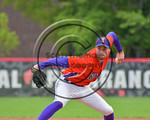 Cortland Crush Joshua Delaney (39) pitching against the Olean Oilers at Wallace Field on the SUNY Cortland campus in Cortland, New York on Thuesday, July 2, 2017. Cortland won 7-2.