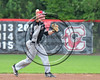 Olean Oilers Jimmy Webb (31) throwing the ball against the Cortland Crush at Wallace Field on the SUNY Cortland campus in Cortland, New York on Thuesday, July 2, 2017. Cortland won 7-2.