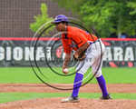 Cortland Crush Ledwin Nunez (36) on the mound against the Olean Oilers at Wallace Field on the SUNY Cortland campus in Cortland, New York on Thuesday, July 2, 2017. Cortland won 7-2.