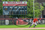 Cortland Crush Tyler Schmidt (21) playing against the Olean Oilers at Wallace Field on the SUNY Cortland campus in Cortland, New York on Thuesday, July 2, 2017. Cortland won 7-2.