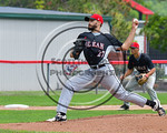 Olean Oilers Benjamin Wereski (27) pitching against the Cortland Crush at Wallace Field on the SUNY Cortland campus in Cortland, New York on Thuesday, July 2, 2017. Cortland won 7-2.