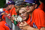 Cortland Crush Josh Reuter (23) in the dugout during a game against the Olean Oilers at Wallace Field on the SUNY Cortland campus in Cortland, New York on Thuesday, July 2, 2017. Cortland wo ...