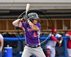Cortland Crush Dylan Ott (4) at bat against the Syracuse Salt Cats at OCC Turf Field in Syracuse, New York on Saturday, July 8, 2017. Cortland won 10-1.
